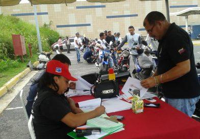 """""""Ponte al día con tu moto"""" cerró con más de 1600 trámites en Los Valles del Tuy"""