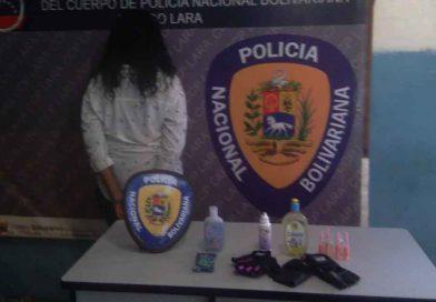 Mujer con amplio prontuario policial por robo es capturada por la PNB en Lara