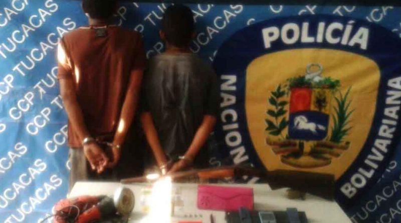 PNB Tucacas detenidos 1