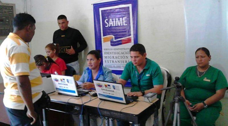 SAIME Puerto Ayacucho garantizó cedulación en hospital Doctor José Gregorio Hernández