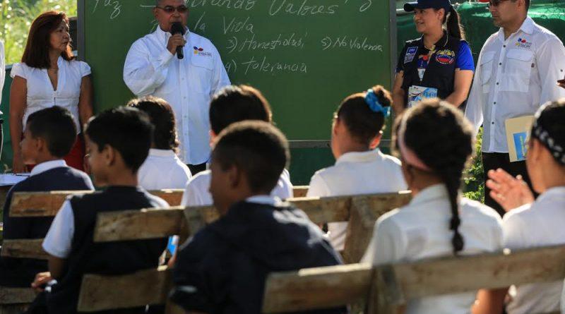 Plan de Formación Integral garantizará Prevención Integral y Convivencia Solidaria en escuelas