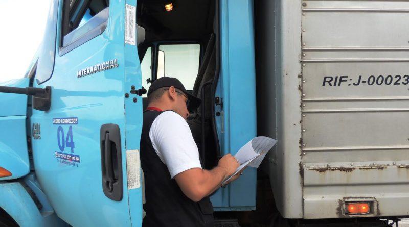 Se mantiene vigente reglamentación emitida por el Intt para transportistas de carga
