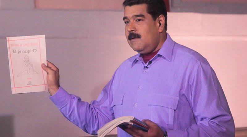 Presidente Maduro ratifica compromiso del Gobierno Bolivariano por la paz