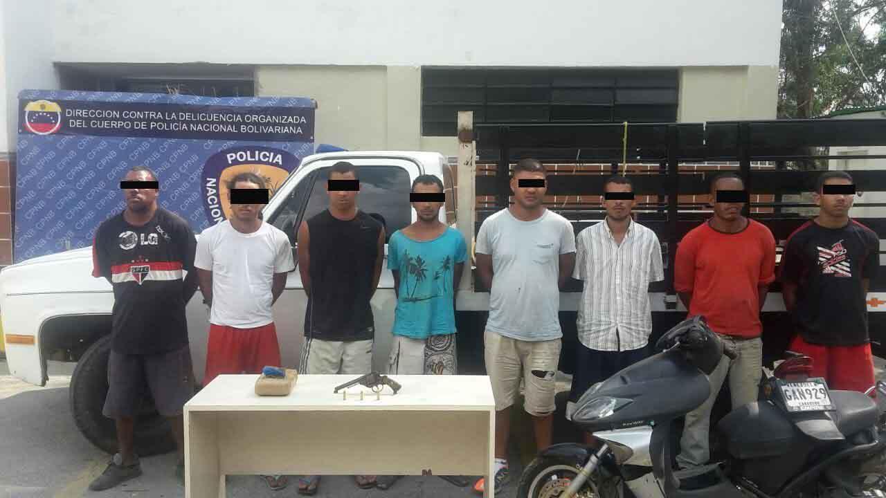 """Banda roba vehículos """"El Quiriquiri"""" quedó desarticulada por comisión de la PNB"""
