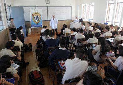Cicpc impartió charla a más de 200 alumnos del Colegio San Agustín de El Paraíso