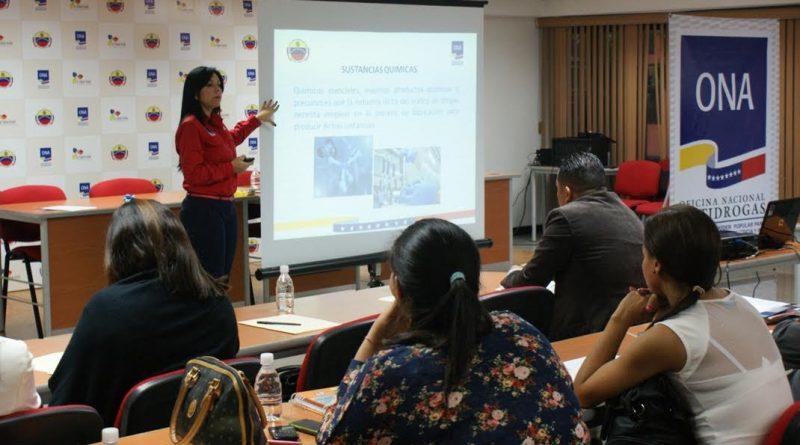ONA fortalece el proceso de fiscalización de sustancias químicas controladas