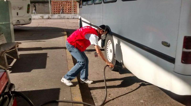 Más de 45 unidades fueron revisadas en operativo de opacidad en Táchira
