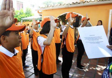 Policía Nacional Bolivariana juramentó segunda Patrulla Escolar con discapacidad auditiva