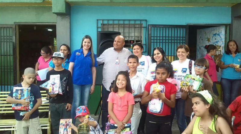 Jornadas Sociales del Saren brindan atención a niños, niñas y jóvenes