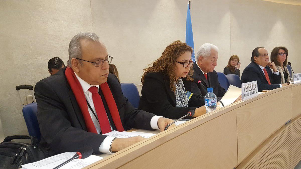 Foto: DDHH. Política de DDHH de Venezuela obtiene masivo reconocimiento en la ONU