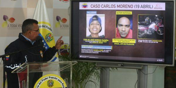 Polisucre infiltrado en manifestación asesinó a Carlos Moreno