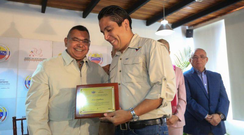 Boris Castellano, periodista de Venezolana de Televisión