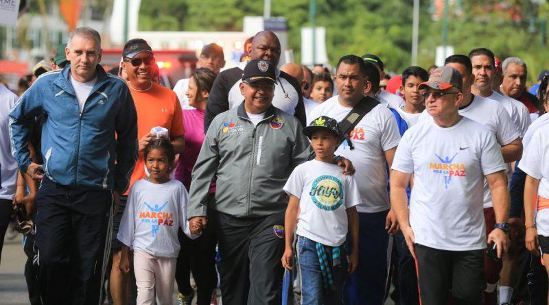 Caminata por la paz 5K un espacio para la sana convivencia y paz de los caraqueños (17)