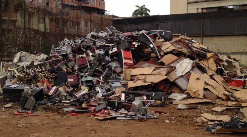 Destruidas 312 máquinas traganíqueles en Guatire-2