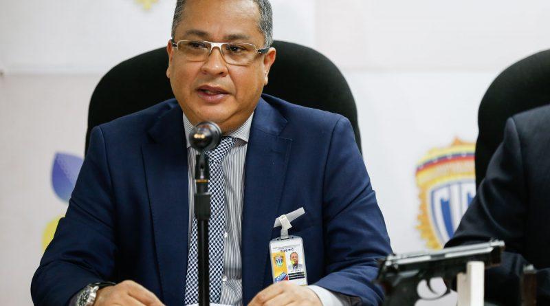 Comisario Douglas Rico, director del Cicpc (3)