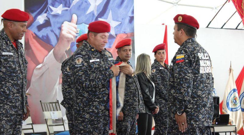 226 funcionarios pertenecientes al Cuerpo de Policía Nacional Bolivariana (Cpnb) fueron ascendidos a la jerarquía superior inmediata