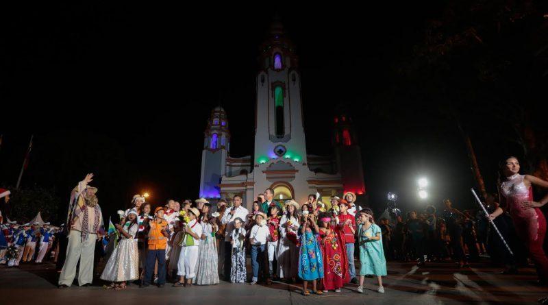 Gran Toma por la Paz en el Panteón le dio la bienvenida a la Navidad (1)