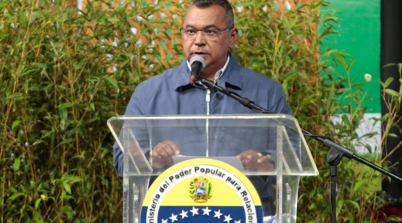 Mayor General, Néstor Reverol, Ministro del Poder Popular para Relaciones Interiores, Justicia y Paz