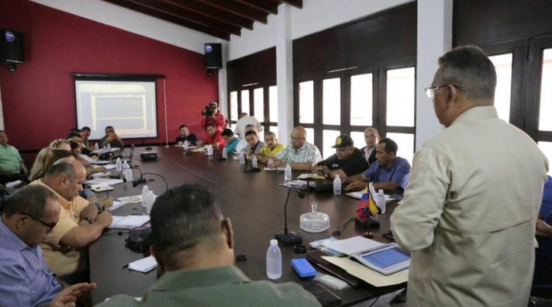 Ministro Néstor Reverol sostuvo un encuentro con alcaldes electos del estado Falcón