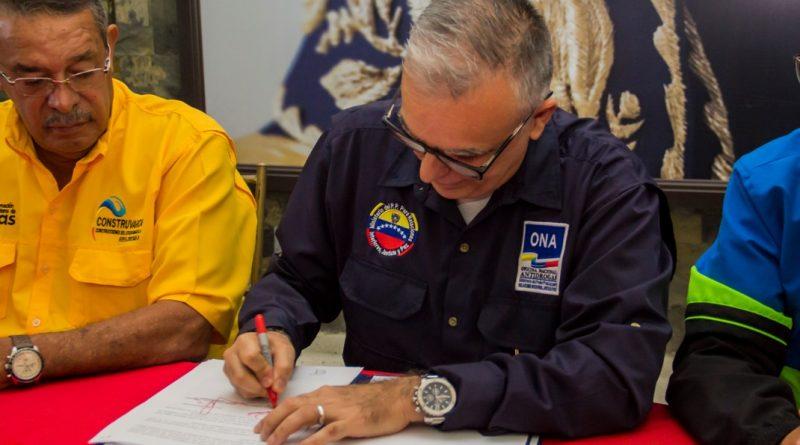 Firma de Convenio ONA con Gobernación Vargas 3