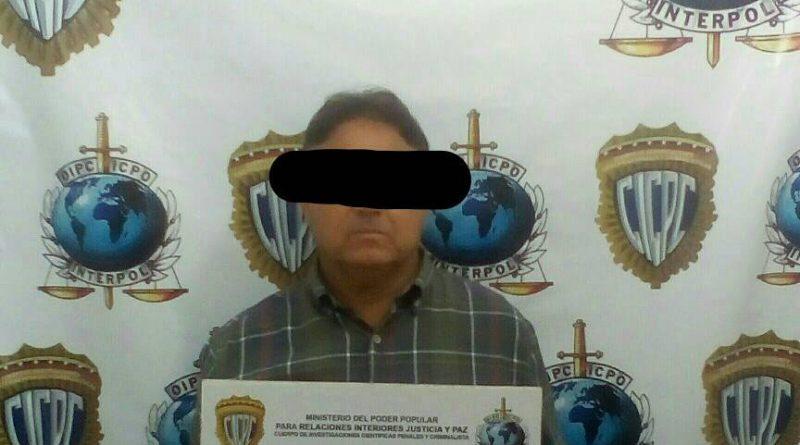 Interpol capturó hombre solicitado por sicariato en Nueva Esparta