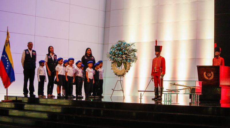A sus 48 años de fundación DPD rinde honores al Padre de la Patria (13)