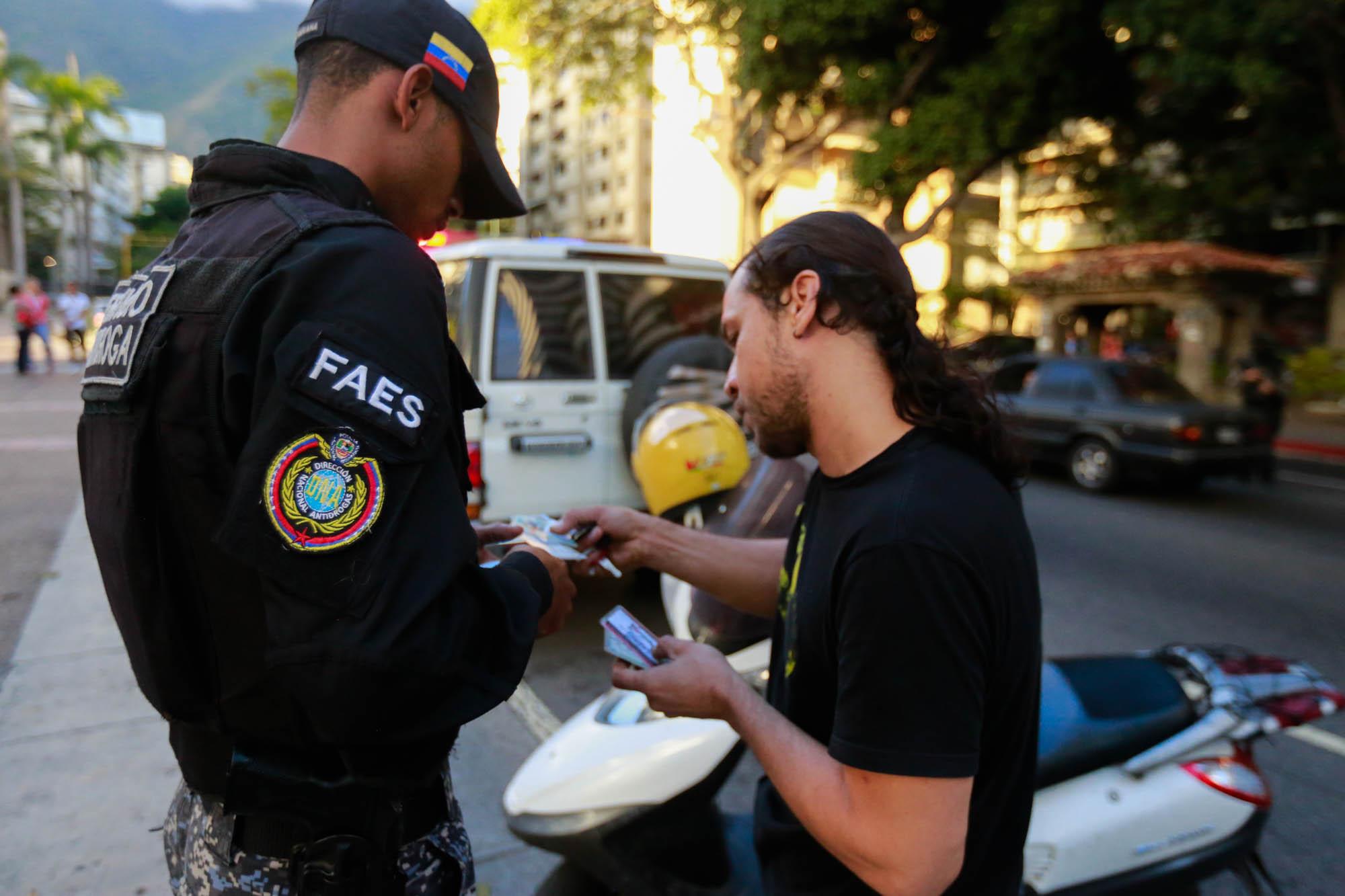 Dispositivo Especial Antiextorsión y Secuestro en Chacao (4)