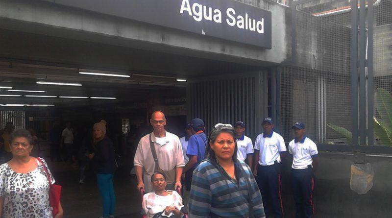Estudiantes de la Unes se integraron a prácticas de apoyo en el Metro de Caracas (2)