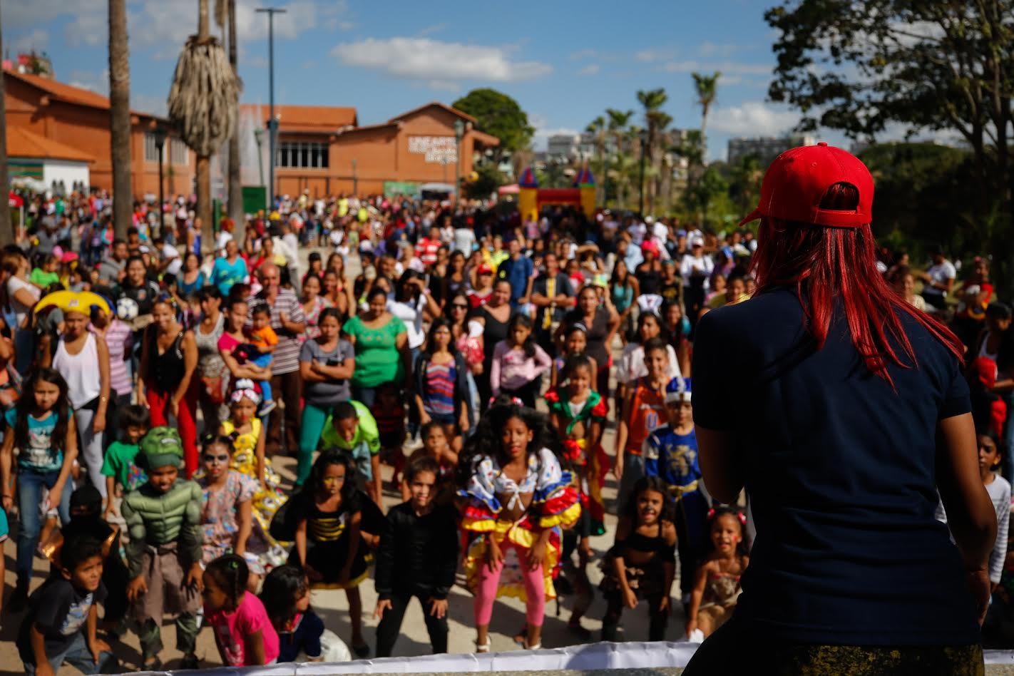 Frente Preventivo atendió más de tres mil personas en el parque Alí Primera (4)