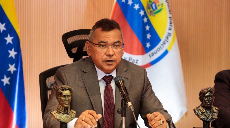 Mayor General Néstor Reverol, ministro del Poder Popular para Relaciones, Justicia y Paz