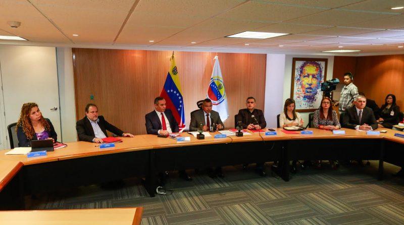 Reunión de alto nivel del sistema de justicia venezolano