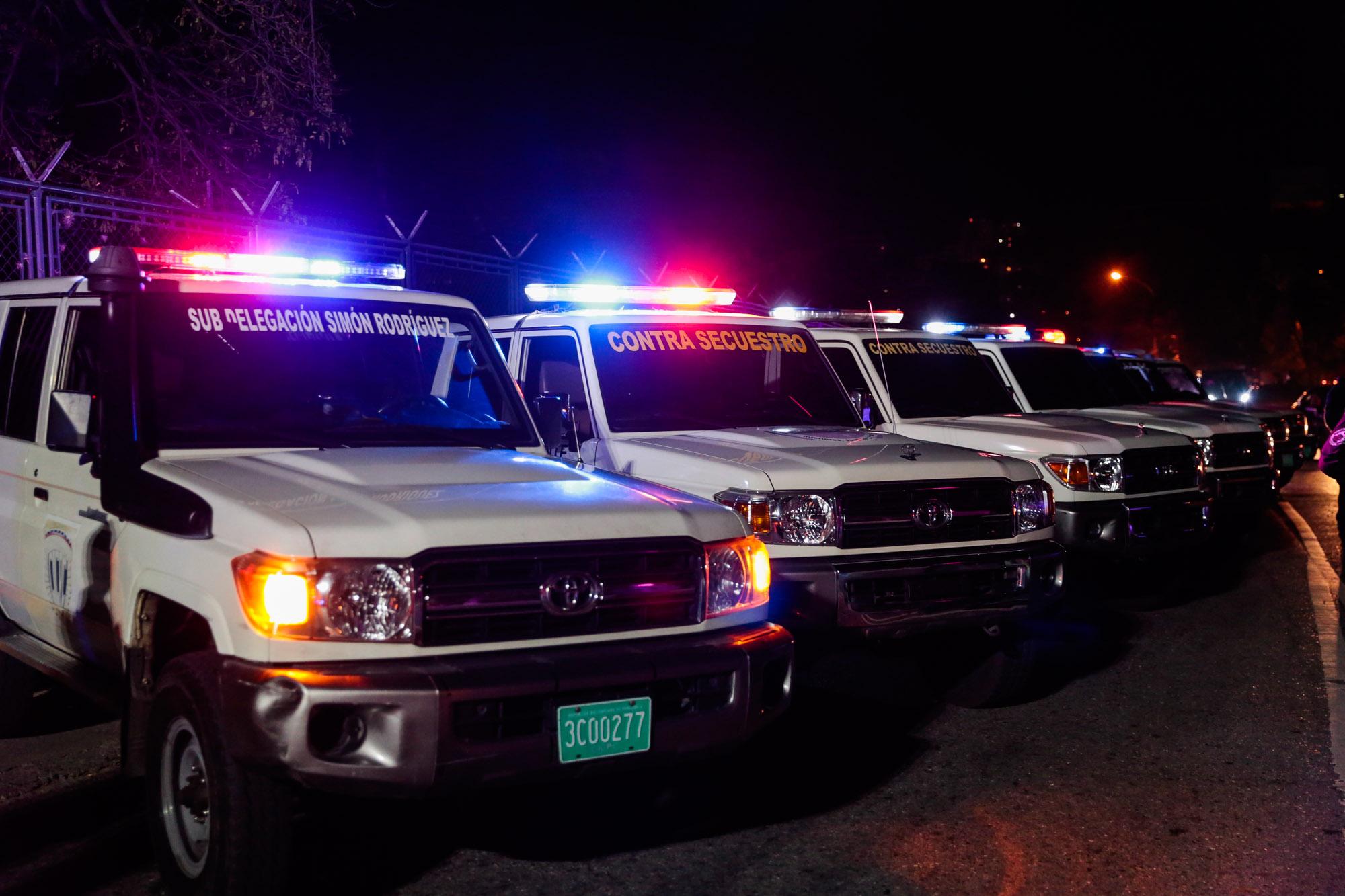 Cicpc activó dispositivo de prevención al delito de secuestro en Cuadrantes de Paz de Chacao (7)