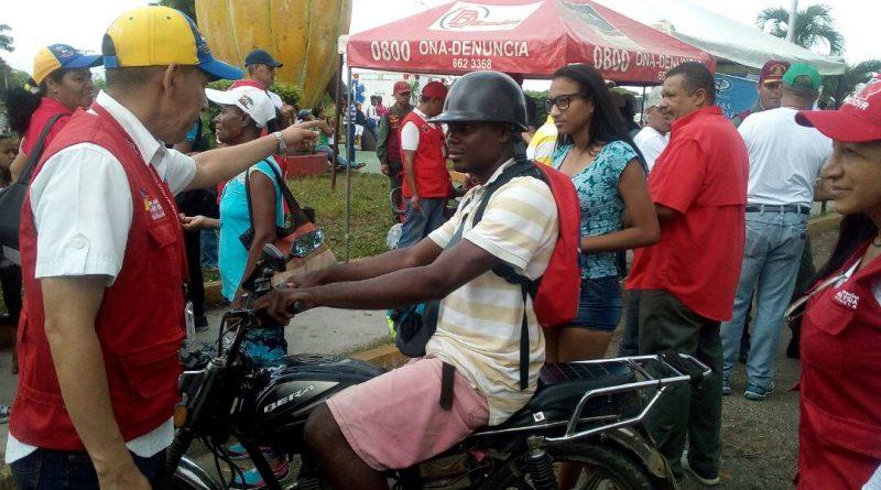 Funcionarios de Seguridad y Frente Preventivo desplegados en Miranda (6)