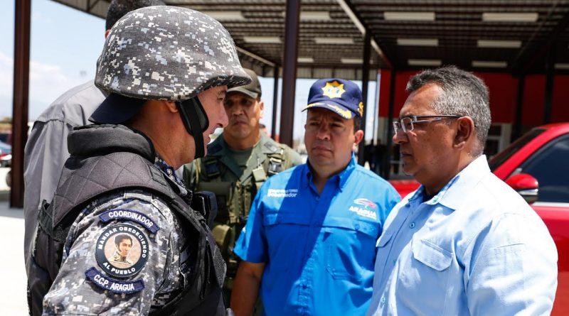 Inspección en nuevas instalaciones del Faes en Aragua (2)