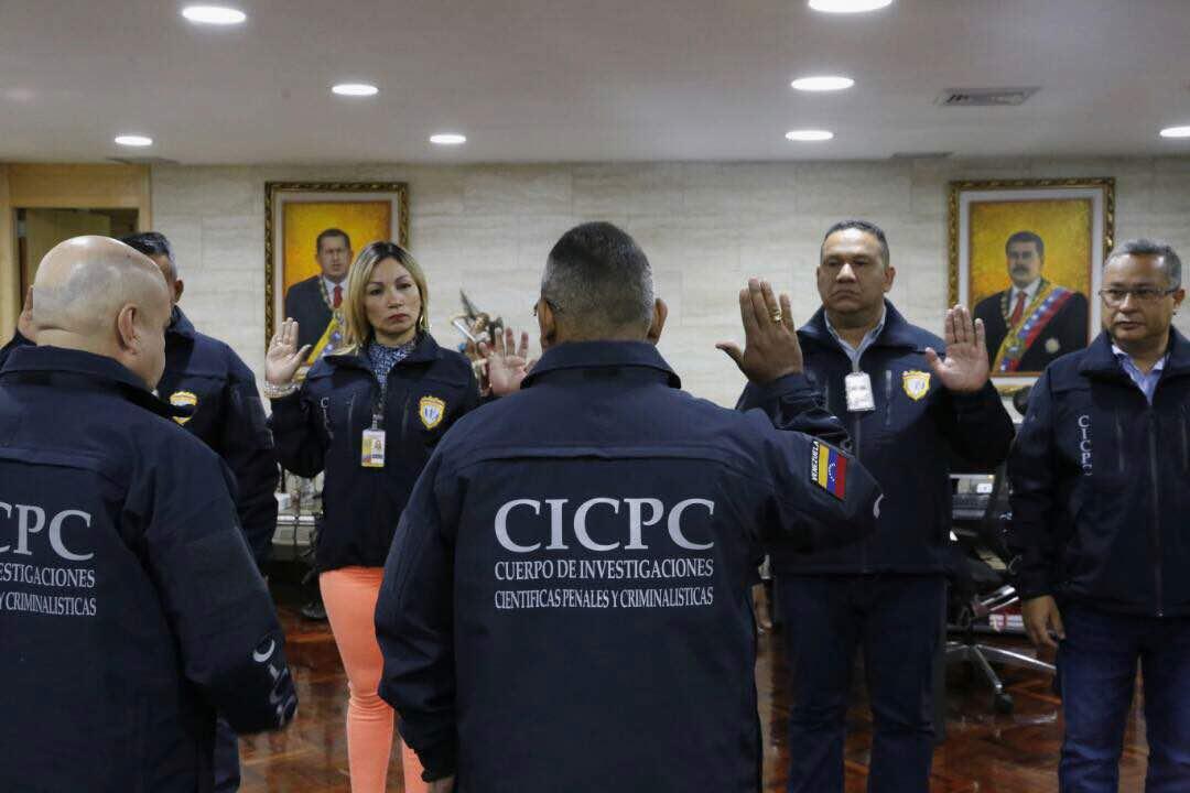 Juramentada nueva directiva del Cicpc (3)