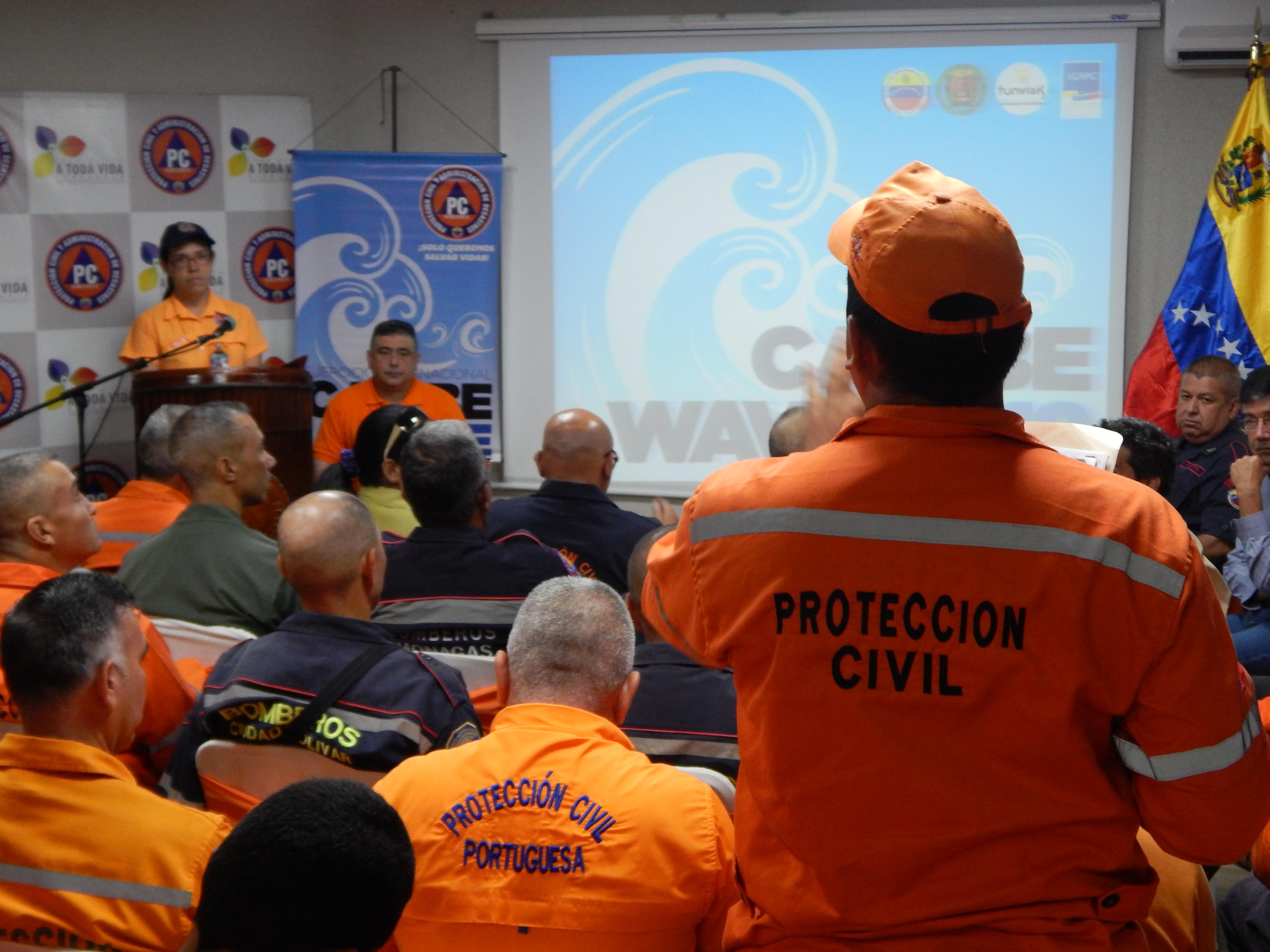 PC Nacional define estrategias sobre simulacro de tsunami Caribe Wave 2018 (2)
