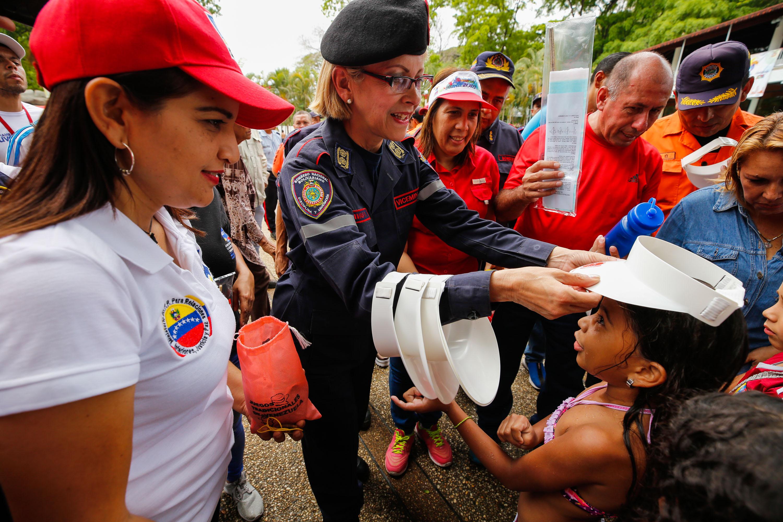Primera Generala, Rosaura Navas, viceministra de Gestión de Riesgo y Protección Civil