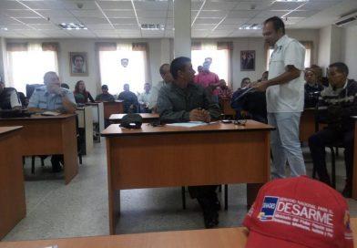 Reforzados procedimientos de Resguardo de Evidencias Físicas en Carabobo