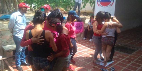 Senades reimpulsa valores a 40 femeninas privadas de libertad en Yaracuy (3)