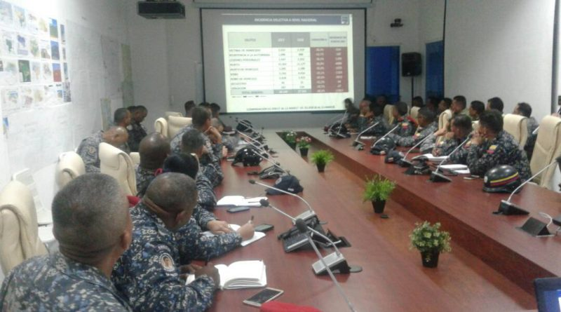 VEN 911 y jefes de Cuadrantes de Paz analizan índice delictivo del país-1