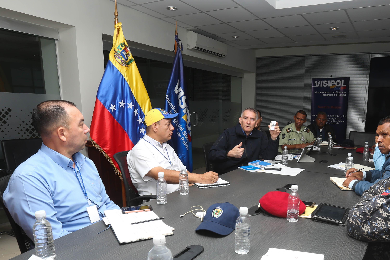 Visipol fortalece Cuadrantes de Paz en ejes Valles del Tuy (1)