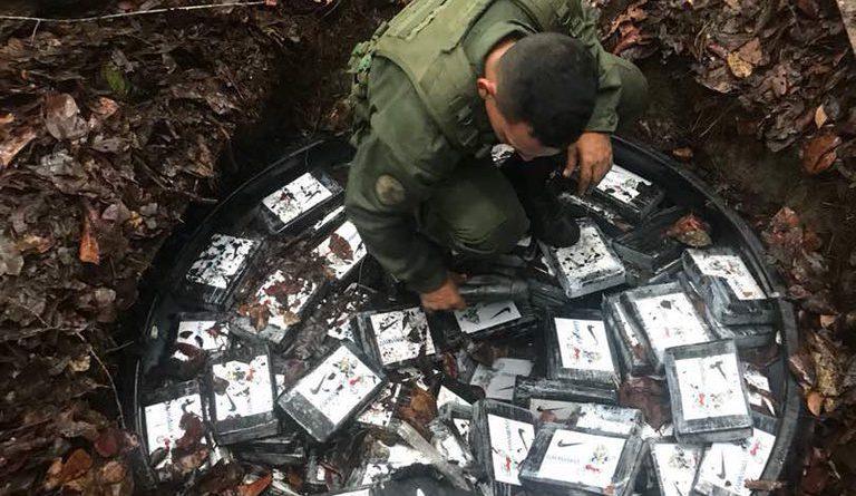 Incautadas 450 panelas de cocaína en el sector Cacahual a 20 millas de San Fernando de Atabapo, edo Amazonas (5)