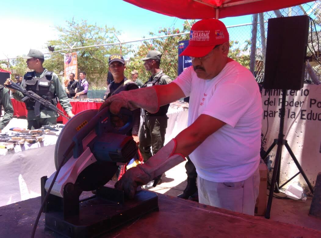 Inutilizadas más de 600 armas de fuego en el estado Sucre (5)