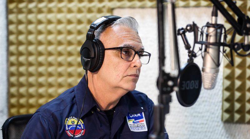 Juan Pedro Grillo, jefe de la Oficina Nacional Antigrogas, quien participó en el programa Al Aire (3)