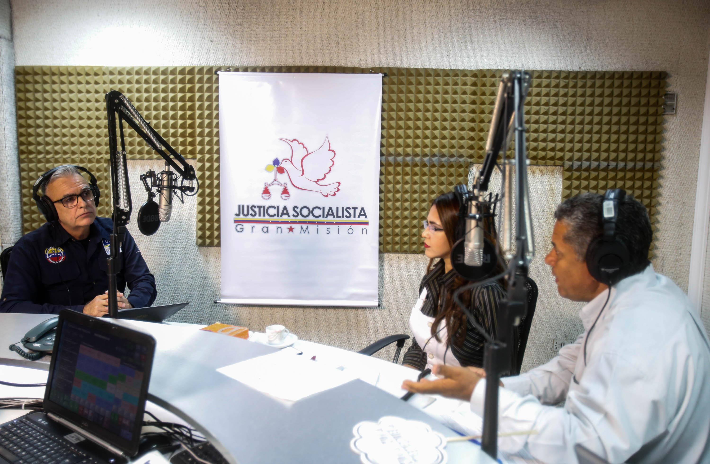 Juan Pedro Grillo, jefe de la Oficina Nacional Antigrogas, quien participó en el programa Al Aire (4)