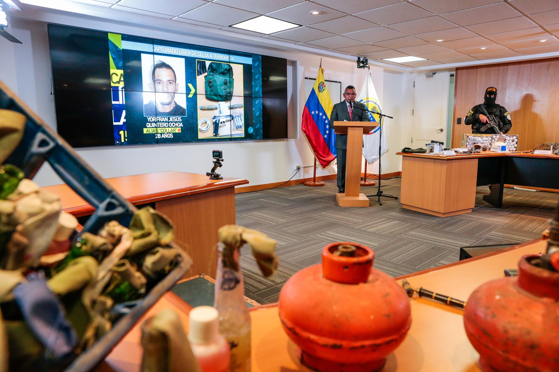 Desmantelada célula terrorista que pretendía cometer actos insurgentes en el país