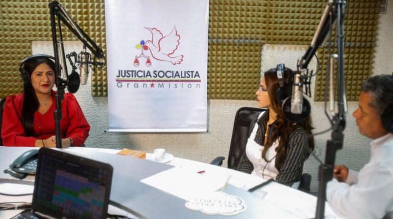 Nuris Perozo, directora general de Prevención del Delito, durante su participación en el programa Al Aire (1)