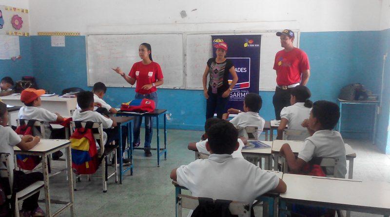 Senades abordó más de 800 estudiantes en Anzoátegui (8)