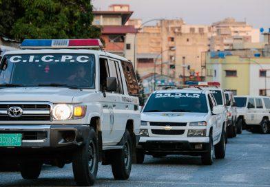 Cicpc despliega operativo de seguridad en la parroquia Macarao