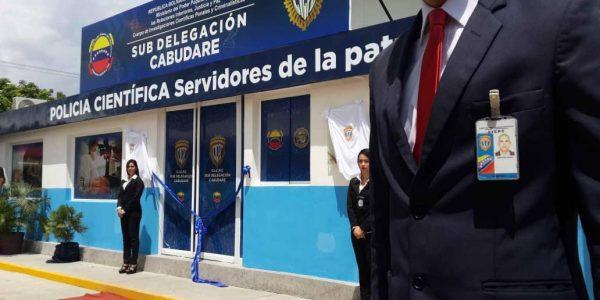 Inaugurada Subdelegación del Cicpc en Cabudare, estado Lara (2)